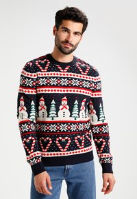 Pier One - Jumper - navy - 0