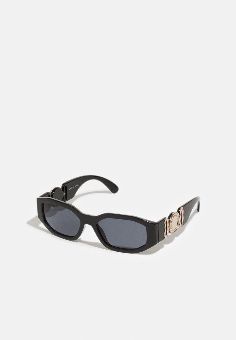 Vintage Supply - CHUNKY RECTANGLE UNISEX - Sunglasses - black