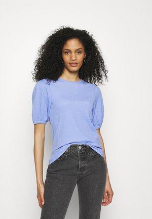 PUFF SLEEVE  - T-shirts basic - blue