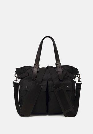 NELSON UNISEX - Tote bag - black