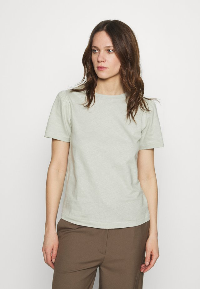 CARINA - Camiseta básica - mineral