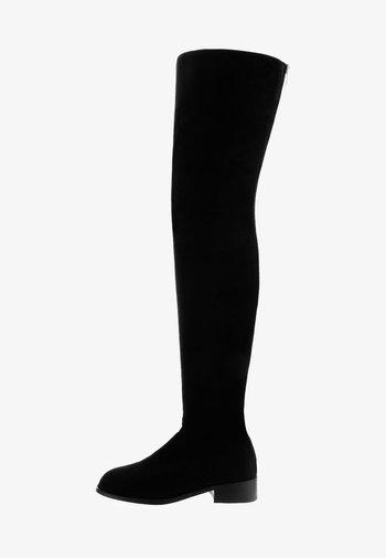 TALAVORNO  - Overknee laarzen - black