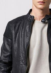Tigha - FRANKLYN - Leather jacket - black - 3