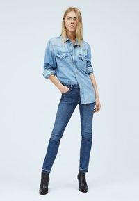 Pepe Jeans - VICTORIA - Slim fit jeans - blue denim - 1