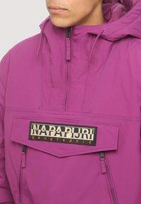 Napapijri - RAINFOREST - Winter coat - purple - 4