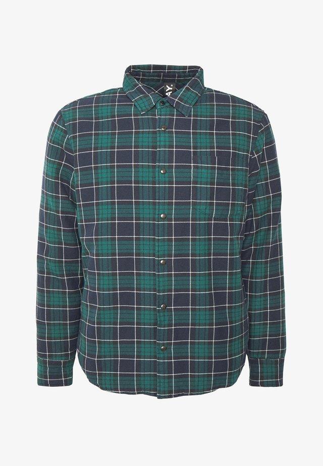 Light jacket - dark blue/dark green