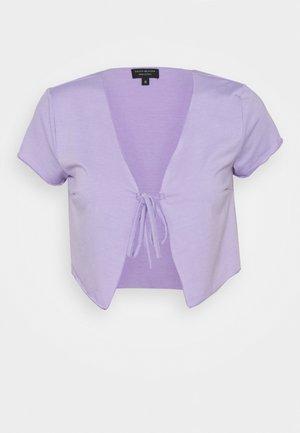 SHORT SLEEVE TIE  - Print T-shirt - lilac