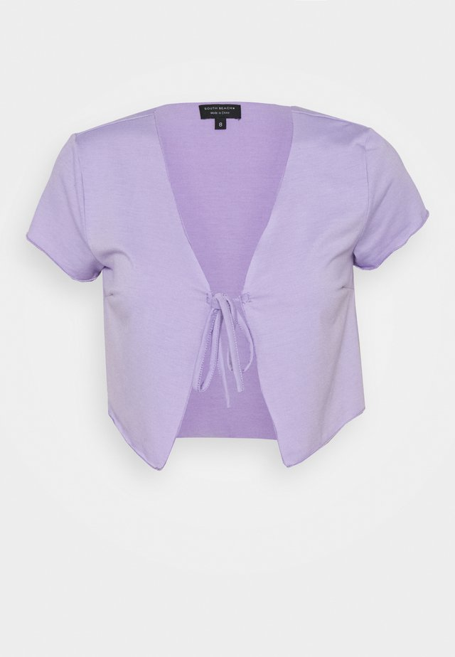 SHORT SLEEVE TIE  - T-shirts med print - lilac