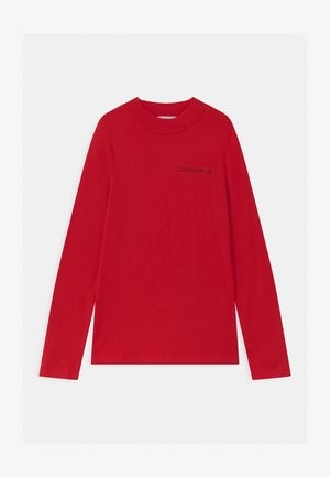LOGO NECK  - Langarmshirt - red
