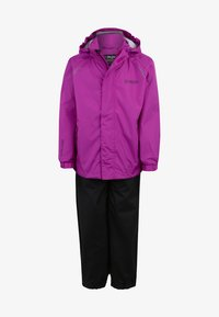 ZIGZAG - OPHIR  - Waterproof jacket - berry - 0