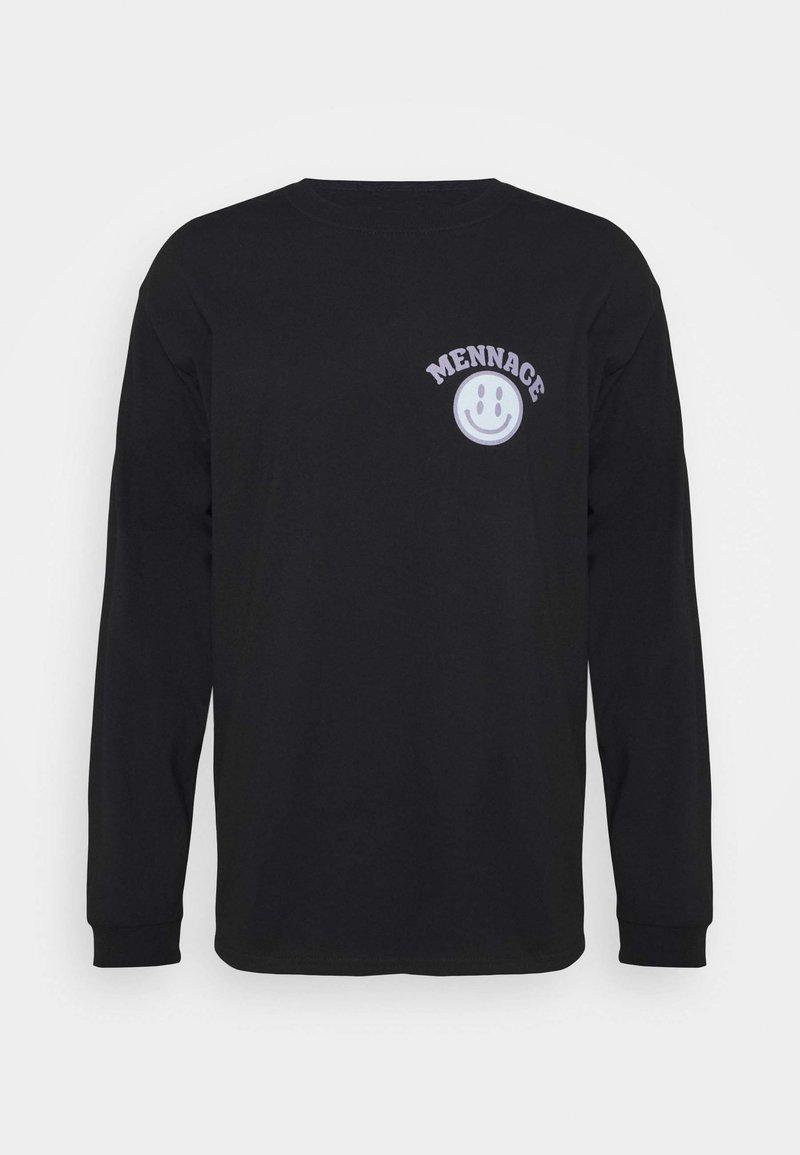 Mennace - UNISEX  - Long sleeved top - black