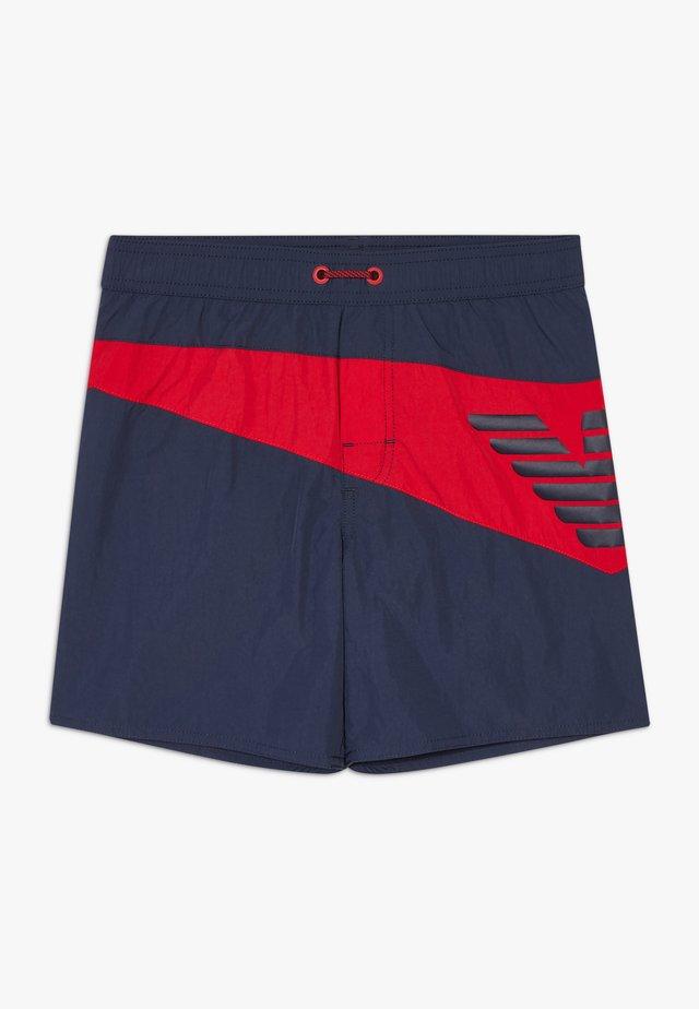 SWIMWEAR - Swimming shorts - night blue/ruby