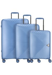 march luggage - 3 PIECES - Luggage set - blue grey