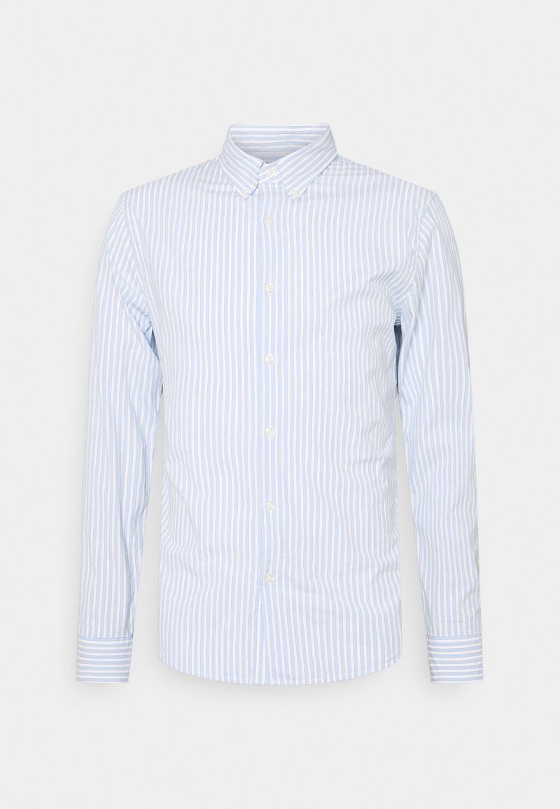 Abercrombie & Fitch - Shirt - white/blue
