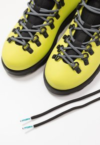 Native - FITZSIMMONS CITYLITE - Lace-up ankle boots - safety yellow/ jiffy black - 5