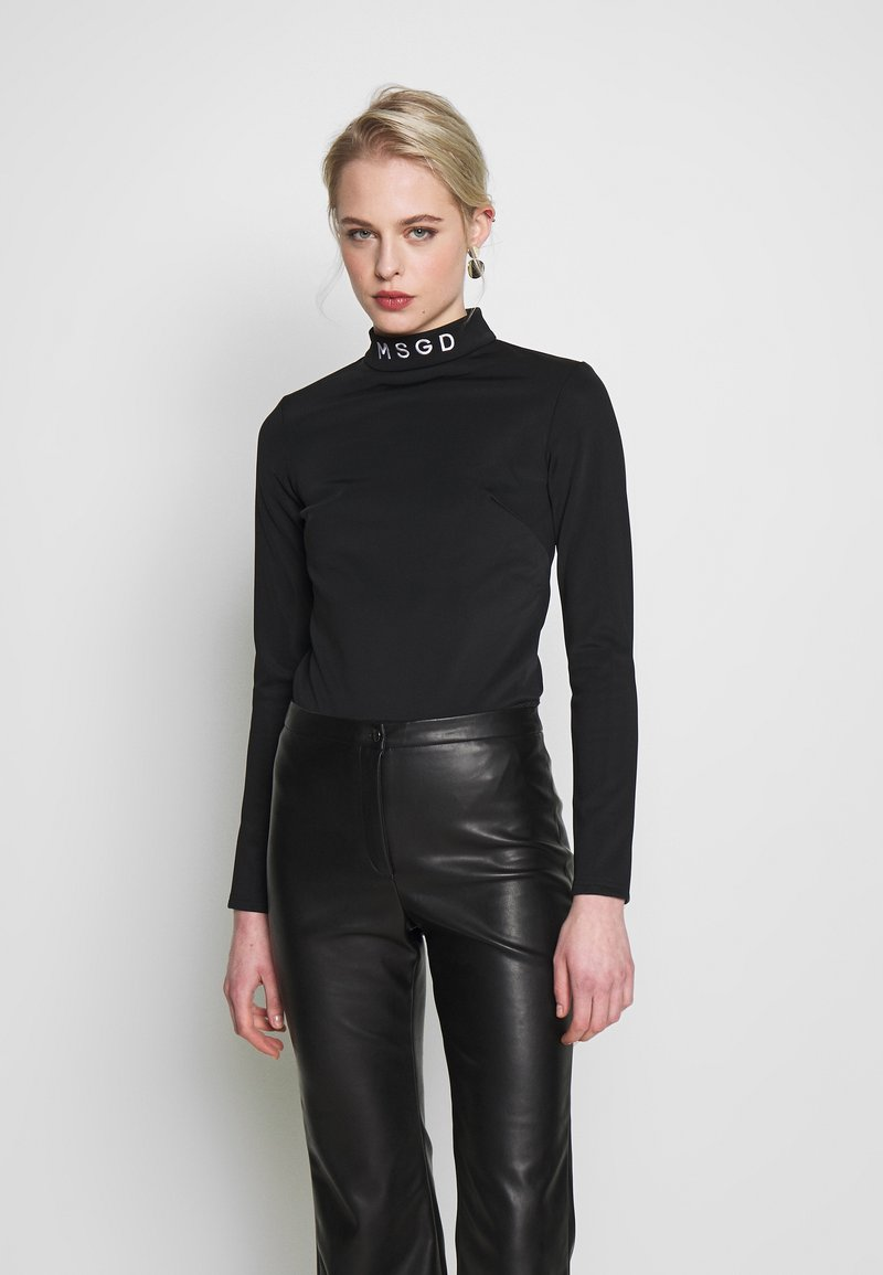 Missguided - SKI BODY SUIT - Long sleeved top - black