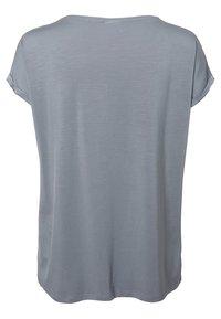 Vero Moda - VMAVA PLAIN - T-shirt basic - tradewinds - 1