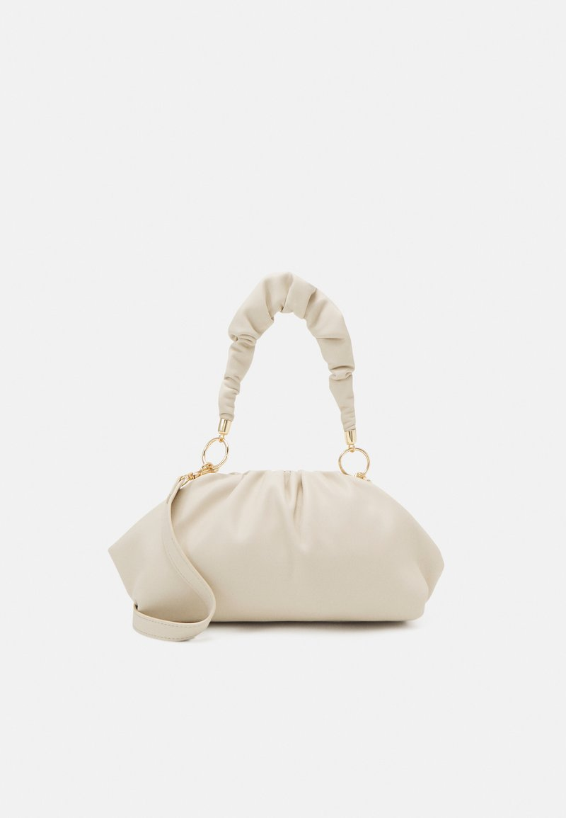 Pieces - PCPIPPA CROSS BODY - Handbag - cloud dancer/gold