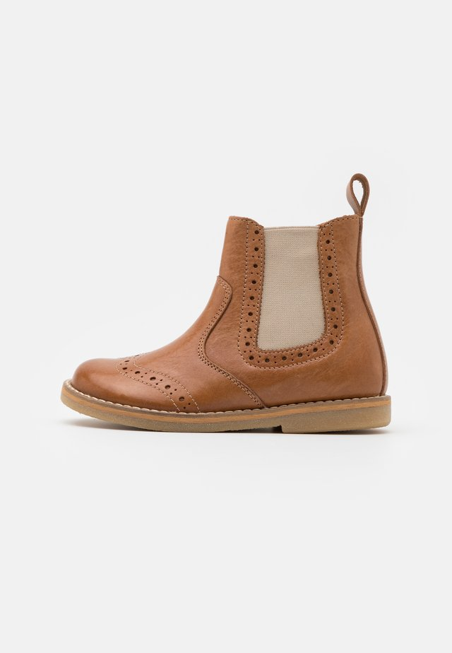 CHELYS BROGUE UNISEX - Classic ankle boots - brown