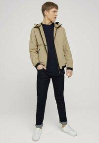 TOM TAILOR - Light jacket - smoked beige - 1