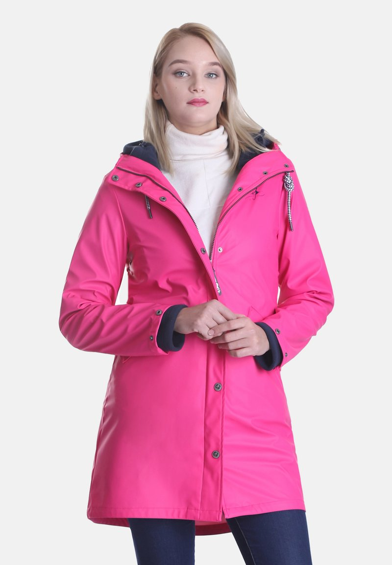 Dingy Rhythm Of The Rain - Parka - pink