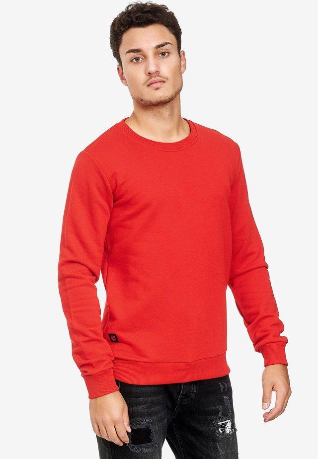 SCHLICHTEM DESIGN - Sweatshirt - red