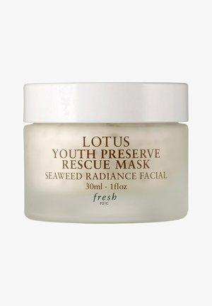 LOTUS YOUTH PRESERVE RESCUE MASKSOS LOTUS MASKE REISEGRÖSSE - Face mask - transparent