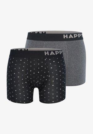 2 PACK - Onderbroeken - black&white dots