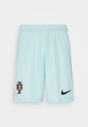 PORTUGAL FPF SHORT AWAY - Pantalón corto de deporte - teal tint/black