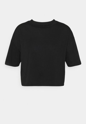 RELAXED ACTIVE - Print T-shirt - black