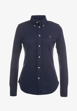 HEIDI LONG SLEEVE - Button-down blouse - cruise navy
