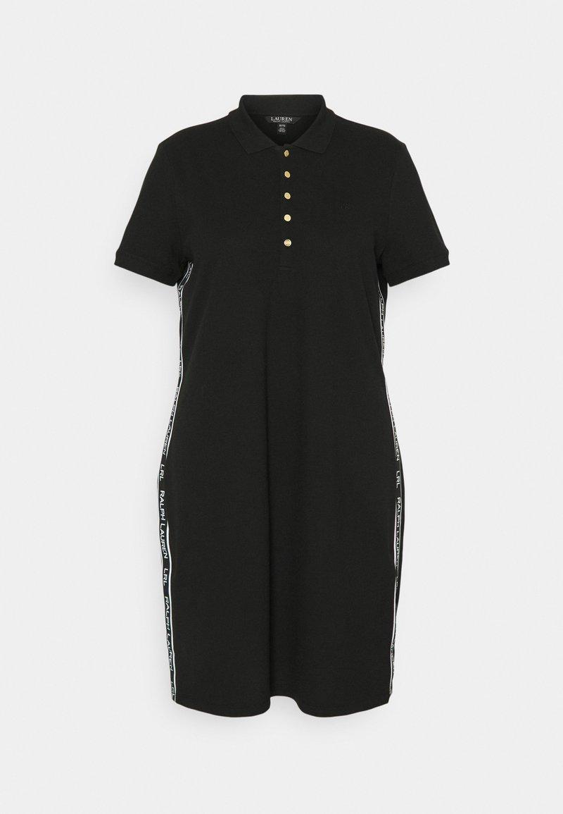Lauren Ralph Lauren Woman - JADDOX SHORT SLEEVE DAY DRESS - Day dress - tropic royal