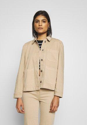 SLFELLA  - Denim jacket - cornstalk