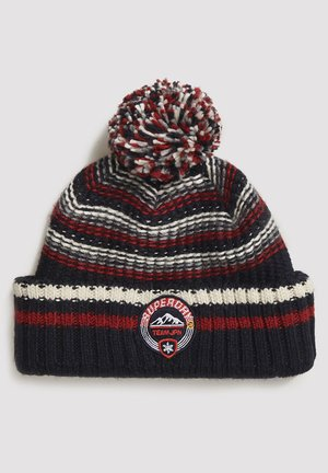 WOODRUFF - Beanie - downhill navy twist