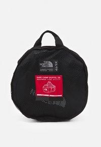 The North Face - BASE CAMP DUFFEL XS UNISEX - Hiking rucksack - black/white - 4