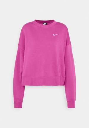 CREW TREND - Sweater - active fuchsia/white