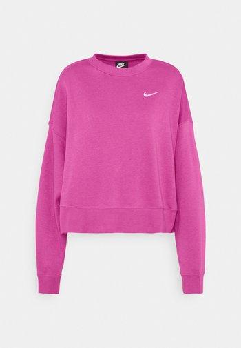 CREW TREND - Sweatshirt - active fuchsia/white