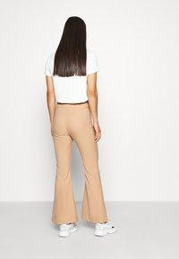 Monki - FIONA  - Trousers - beige - 0