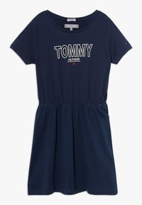 Tommy Hilfiger - TEE DRESS  - Robe en jersey - blue - 0