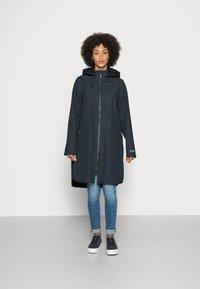 Ilse Jacobsen - RAINCOAT - Classic coat - dark indigo - 0