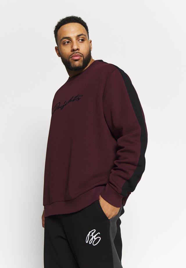 PROJEKTS DRAY SIGNATURE - Sweatshirt - burgundy