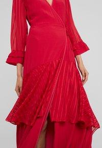 Pinko - ZUCCHERINO ABITO MAROCAINE - Společenské šaty - rosso persiano - 6