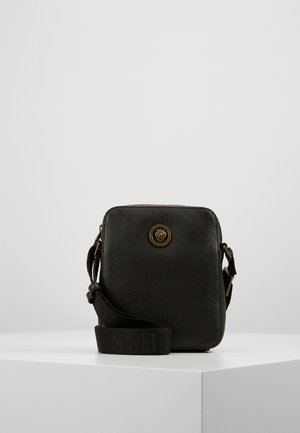 KING MINI DOCUMENT CASE - Sac bandoulière - black