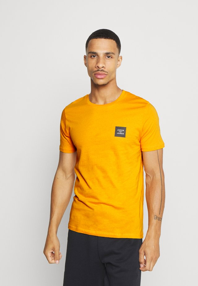 JCOJAY TEE CREW  NECK - Jednoduché triko - golden orange