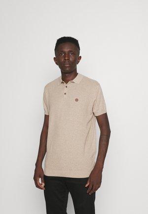 POLO SLUB - Polo shirt - beige
