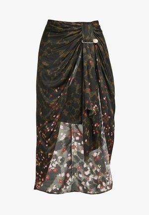 EMMA - Pencil skirt - camo print