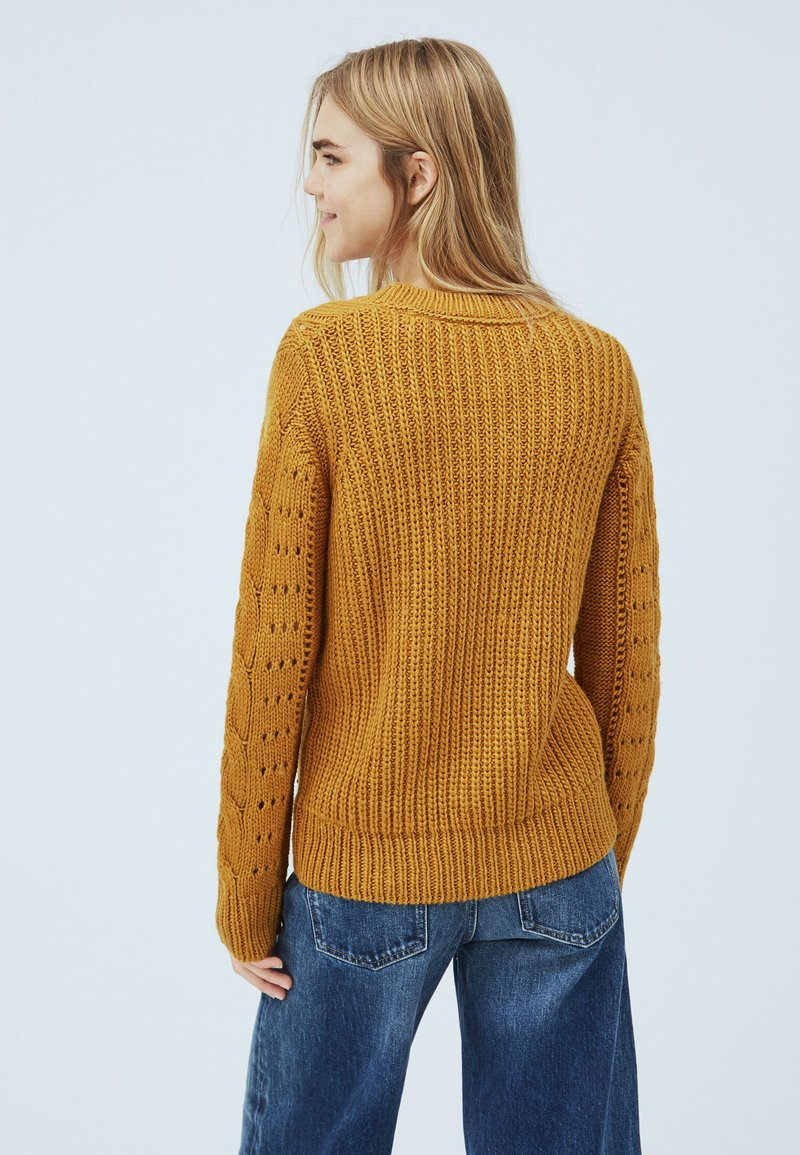 Pepe Jeans KAMILA - Strickpullover - colemans gelb/gelb xE8b9o