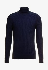 Pier One - Strikpullover /Striktrøjer - mottled dark blue - 4