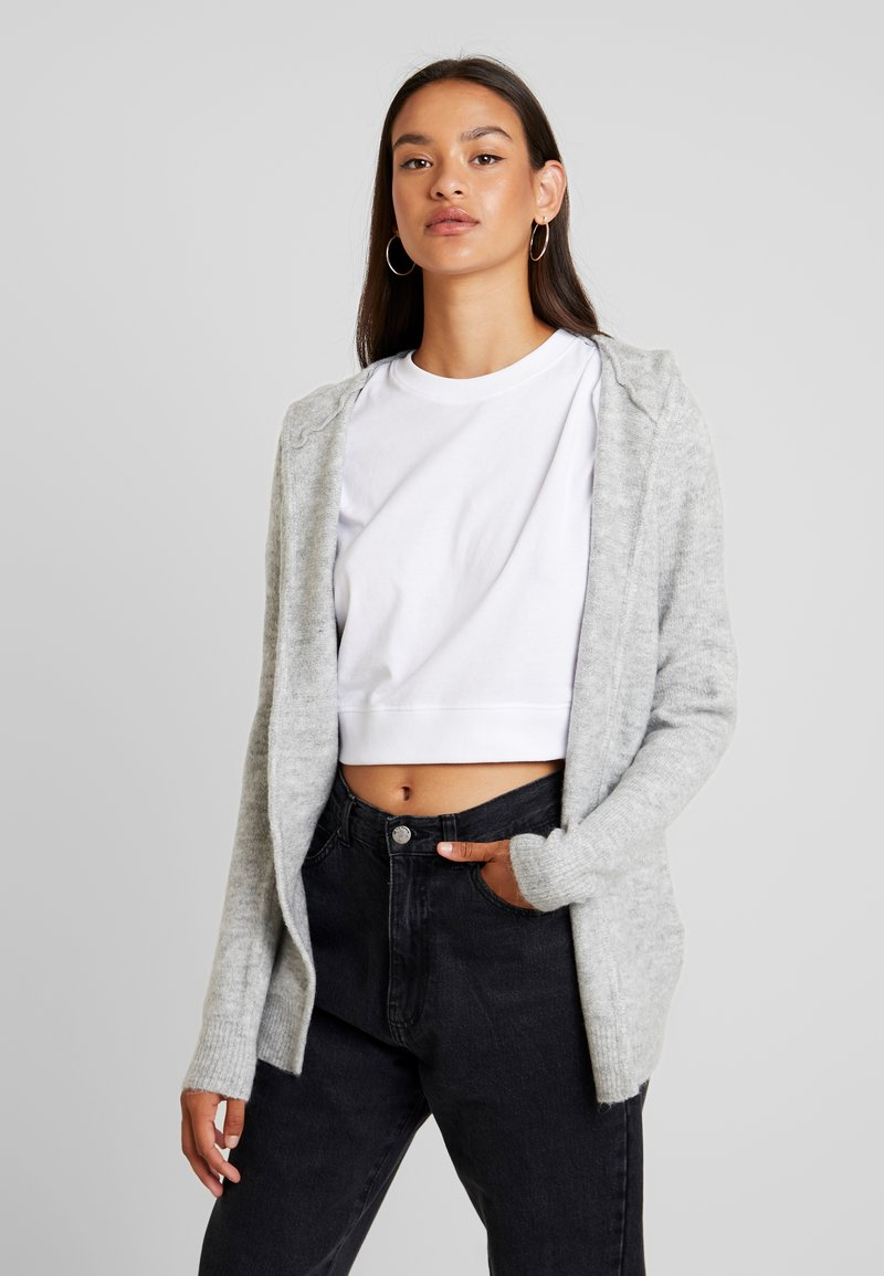 Vero Moda - VMMURE - Cardigan - light grey melange