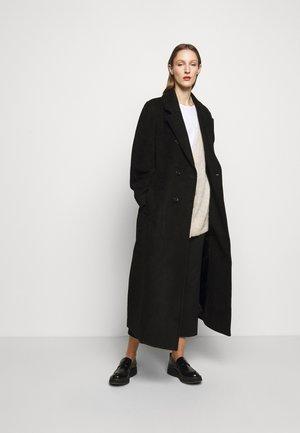ISABELLA - Classic coat - black